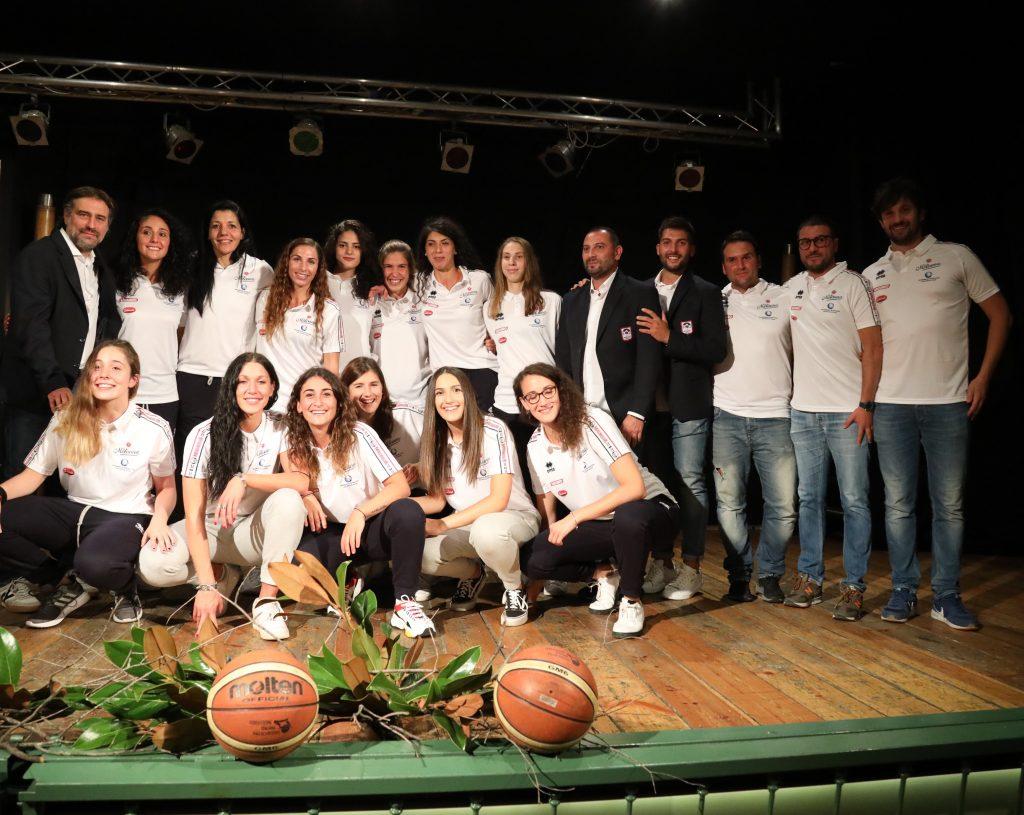 La Molisana Magnolia Basket Campobasso, presentata la squadra dei fiori d'acciaio