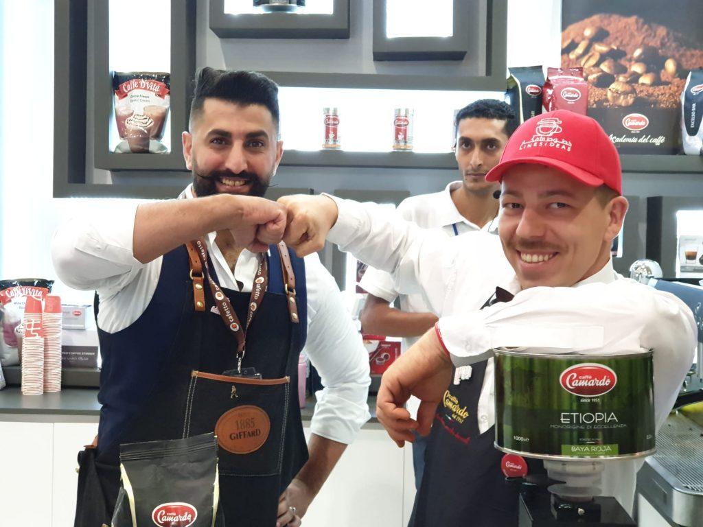 Saudi Horeca 2019: successo per Caffè Camardo