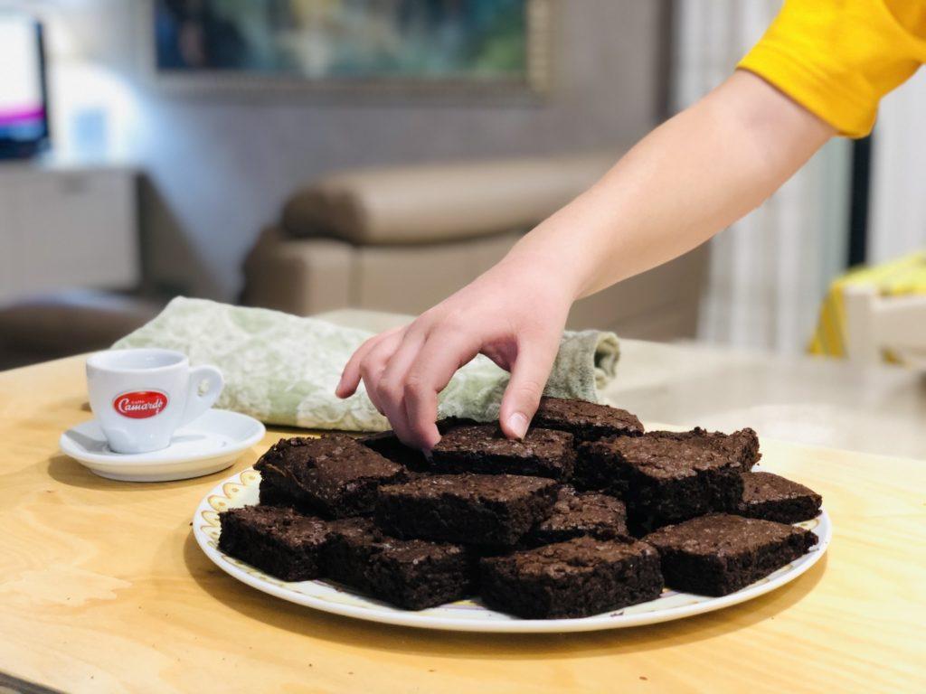 Chocolate brownies: original recipe