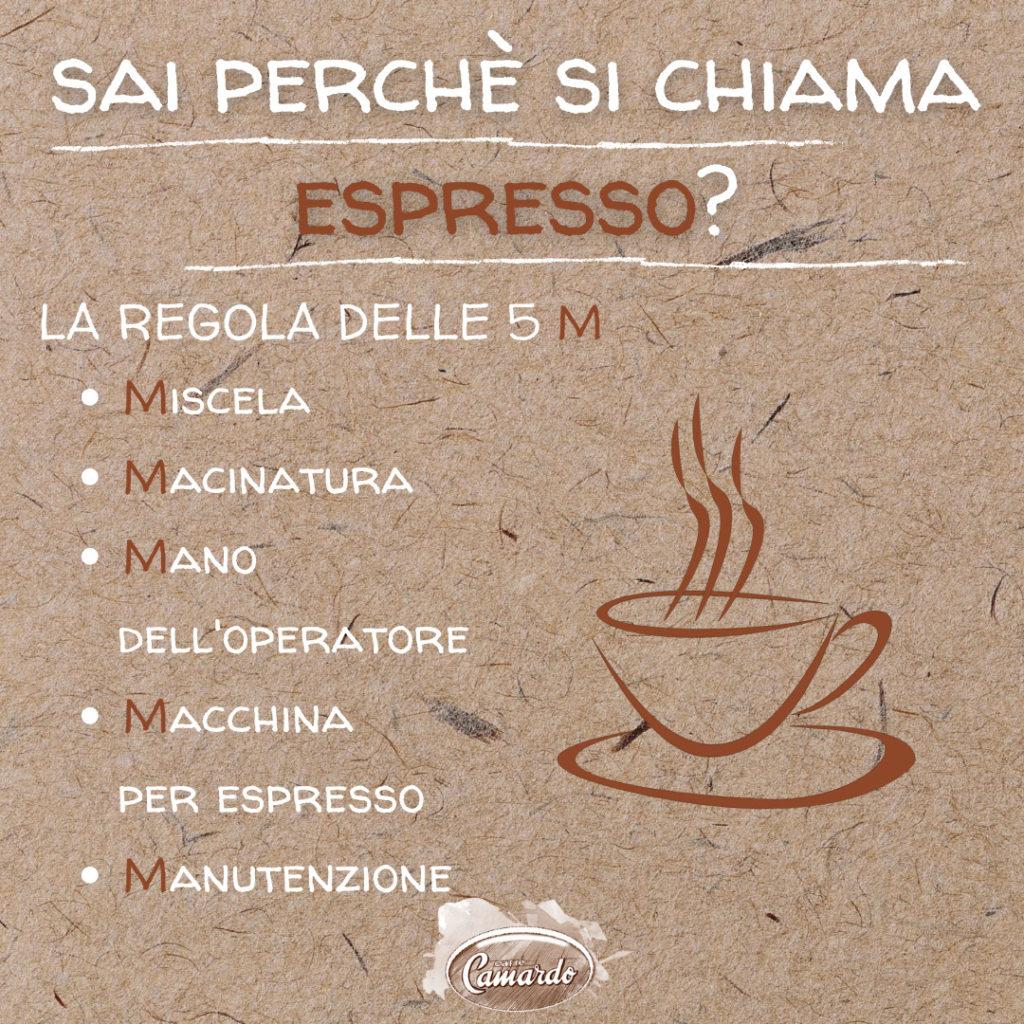 caffè espresso Camardo
